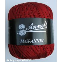 Annell Max-Annel 3413 donkerrood
