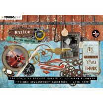 Stansblok A6 20 vel - Just Lou aviation collection nr. 03