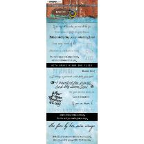 Chipboard elements - Just Lou aviation collection nr. 05