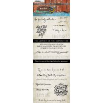 Chipboard elements - Just Lou aviation collection nr. 06