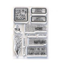 ECD Clear stamps - Home & nature