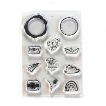 ECD Clear stamps - Seal embellishments