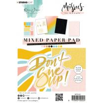 Mixed paper pad A5 - Karin Joan Missees collection nr. 01