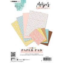 Paper pad A5 36 vel - Karin Joan Missees collection nr. 03