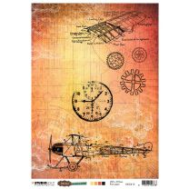Rice Paper Sheet - Just Lou aviation collection nr. 15