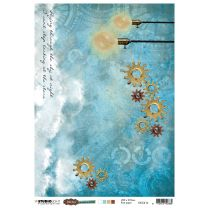 Rice Paper Sheet - Just Lou aviation collection nr. 16
