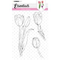Clear stamps A6 - tulip nr. 59