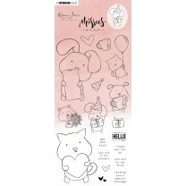 Clear stamps - Karin Joan Missees collection nr. 14