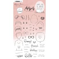 Clear stamps - Karin Joan Missees collection nr. 15