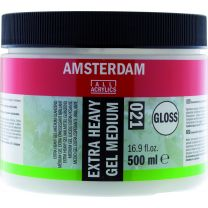 Extra Heavy Gel Medium glans (021) 500 ml
