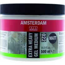 Extra Heavy Gel Medium mat (022) 500 ml