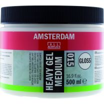 Heavy Gel Medium glans (015) 500 ml
