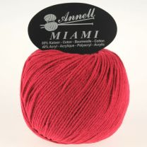 Annell Miami 8913 donkerrood