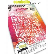 Art printing rubber texture plate A6 crazy patch