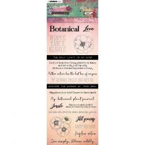 Chipboard elements - Just Lou botanical collection nr. 03