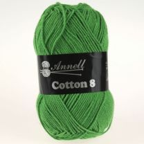 Annell Cotton 8 - 48 donkergroen