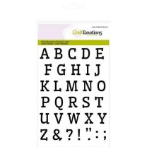 Clear stamps A6 - alfabet