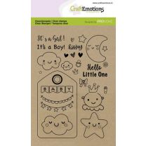 Clearstamps A6 - Baby (Eng)