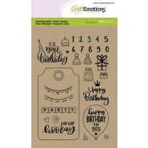 Clearstamps A6 - Birthday (Eng)