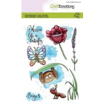 Clearstamps A6 - Bugs 3 Carla Creaties