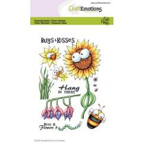 Clearstamps A6 - Bugs & flowers 3 Carla Creaties