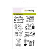 Clear stamps A6 - cactus handlettering