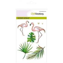 Clear stamps A6 - flamingo