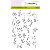 Clearstamps A6 - handlettering - alfabet kleine letters (open)