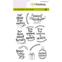 Clearstamps A6 Handlettering - Christmas 2 (Eng) Carla Kamphuis