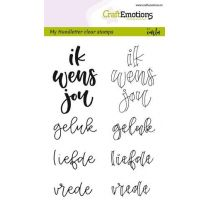 Clearstamps A6 Handlettering - Ik wens jou