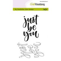 Clearstamps A6 Handlettering - Just be you