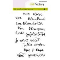 Clearstamps A6 Handlettering - Opa & Oma Carla Kamphuis
