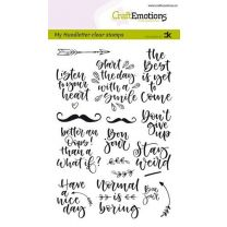 Clearstamps A6 Handlettering - Quotes 1 (Eng) Carla Kamphuis