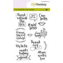 Clearstamps A6 Handlettering - Quotes 2 (Eng) Carla Kamphuis