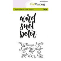 Clearstamps A6 Handlettering - Word snel beter
