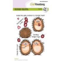 Clearstamps A6 - Hedgy 1 ENG Carla Creaties