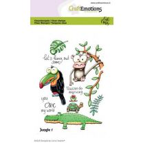 Clearstamps A6 - Jungle 1 Carla Creaties