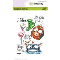 Clearstamps A6 - Jungle 2 Carla Creaties