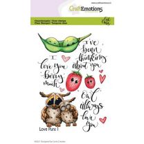 Clearstamps A6 - Love Puns 1 Carla Creaties