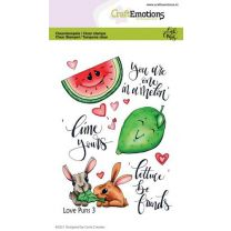 Clearstamps A6 - Love Puns 3 Carla Creaties