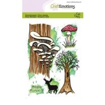 Clearstamps A6 - Magic forest 2 Carla Creaties