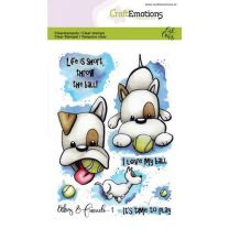 Clearstamps A6 - Odey & Friends 1 Carla Creaties