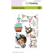 Clearstamps A6 - Party 1 Carla Creaties
