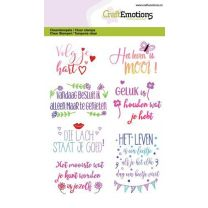Clearstamps A6 quotes - volg je hart NL
