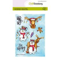 Clearstamps A6 - Snowy & friends 1 Carla Creaties