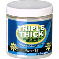 DecoArt Triple thick gloss glaze 236 ml