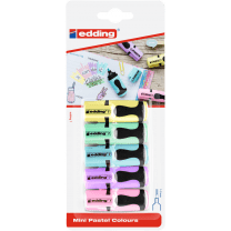 Edding 7 mini pastel colours set 5 kleuren