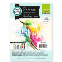 Florence aquarelpapier smooth white 300g A5 15 vel