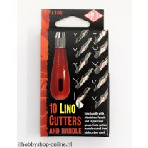 Lino Handle & 10 cutters