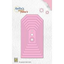 Nellies Choice Multi Frame Die - labels